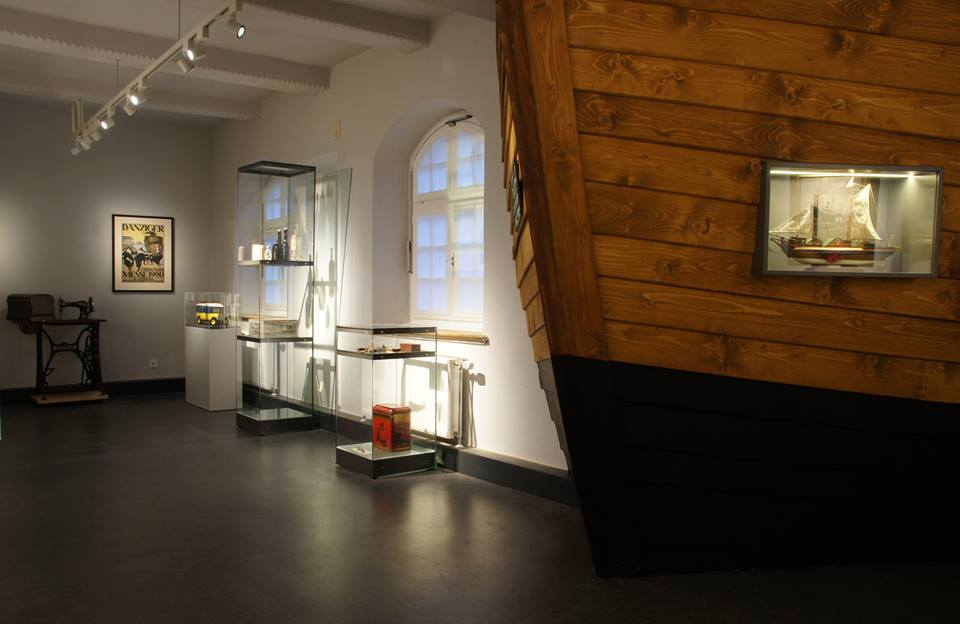 Die Dauerausstellung im Obergeschoss