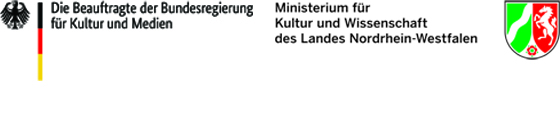 Fördererlogo Die Beaufragte der Bundesregierung für Kultur und Medien und Fördererlogo Ministerium MFKJKS