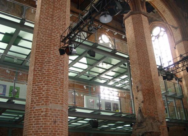Galeria EL in der Elbinger Marienkirche