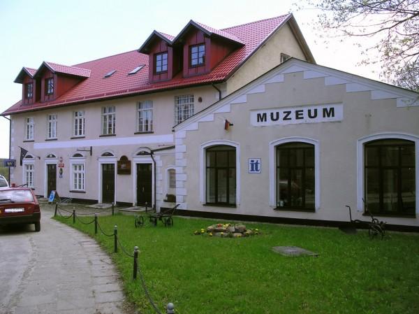 Das Regionalmuseum in Krokowa/Krockow