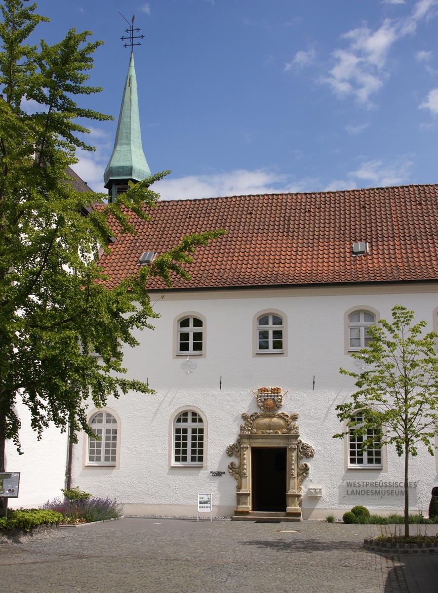 Das ehemalige Franziskanerkloster in Warendorf - seit 2014 Sitz des Westpreußischen Landesmuseums