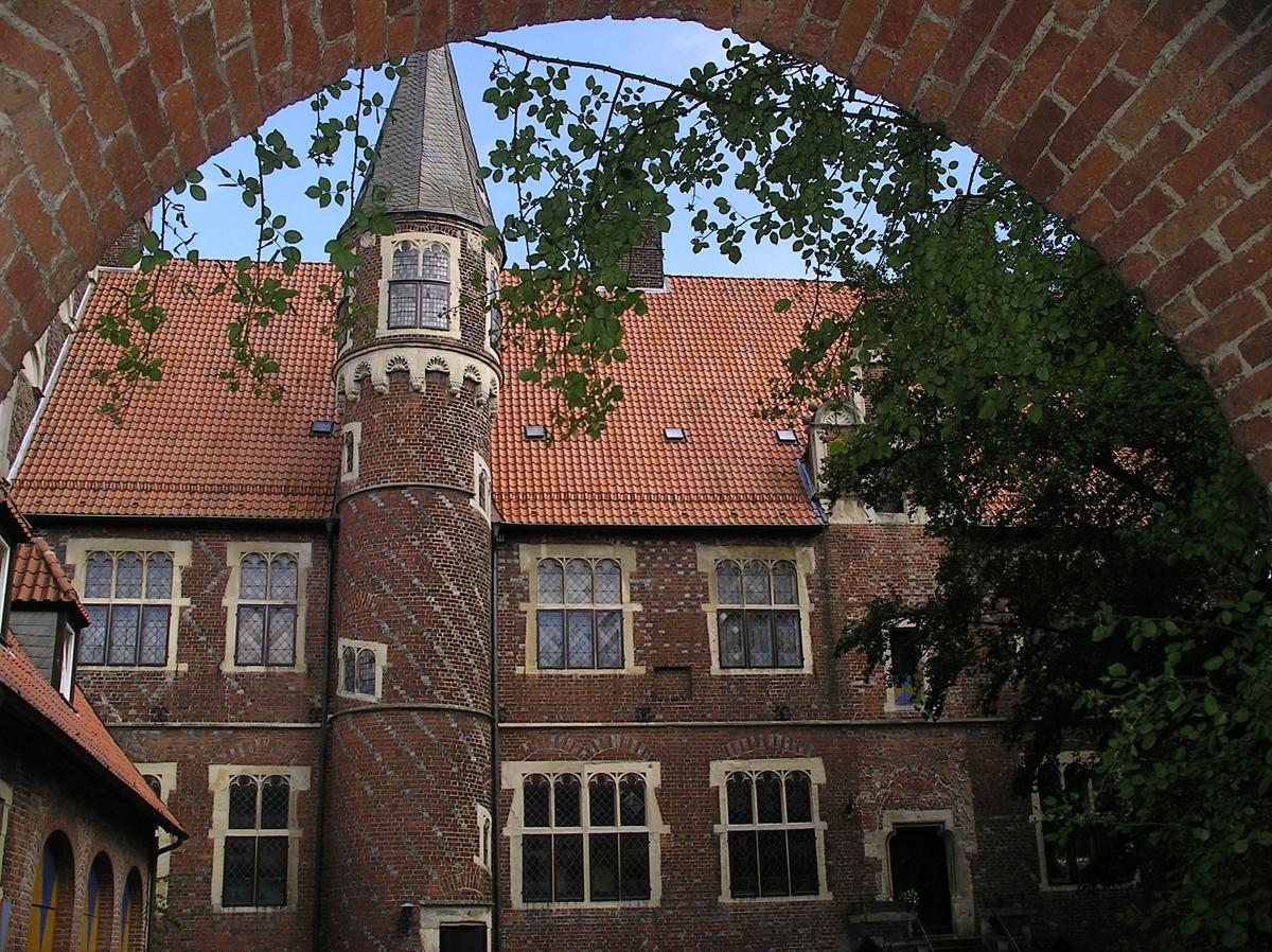 Der Drostenhof in Münster-Wolbeck - von 1975 bis 2012 Sitz des Westpreußischen Landesmuseums