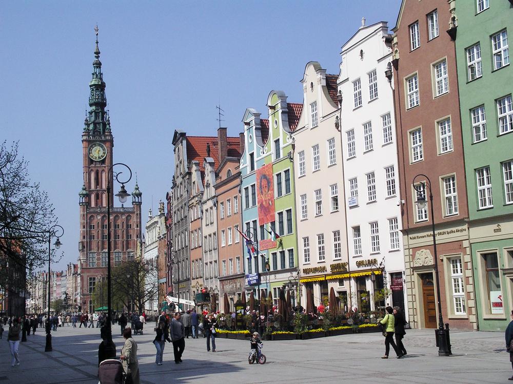 Langer Markt in Danzig (T. Hölscher)