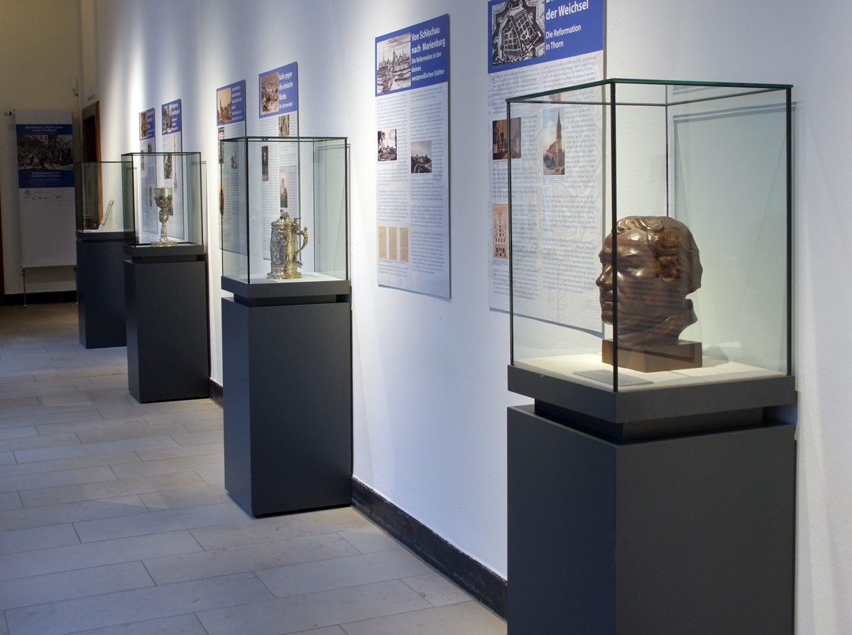 Ein Blick in die Ausstellung