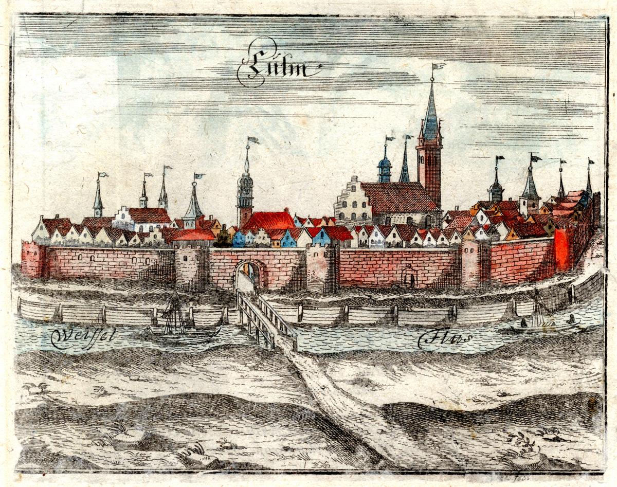 Die Hansestadt Kulm, 1684