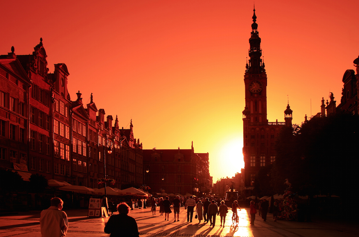Der Lange Markt in Danzig. Foto: Kulturreferat Westpreußen