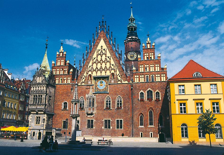 Das Rathaus in Breslau. Foto: Kulturreferat Westpreußen